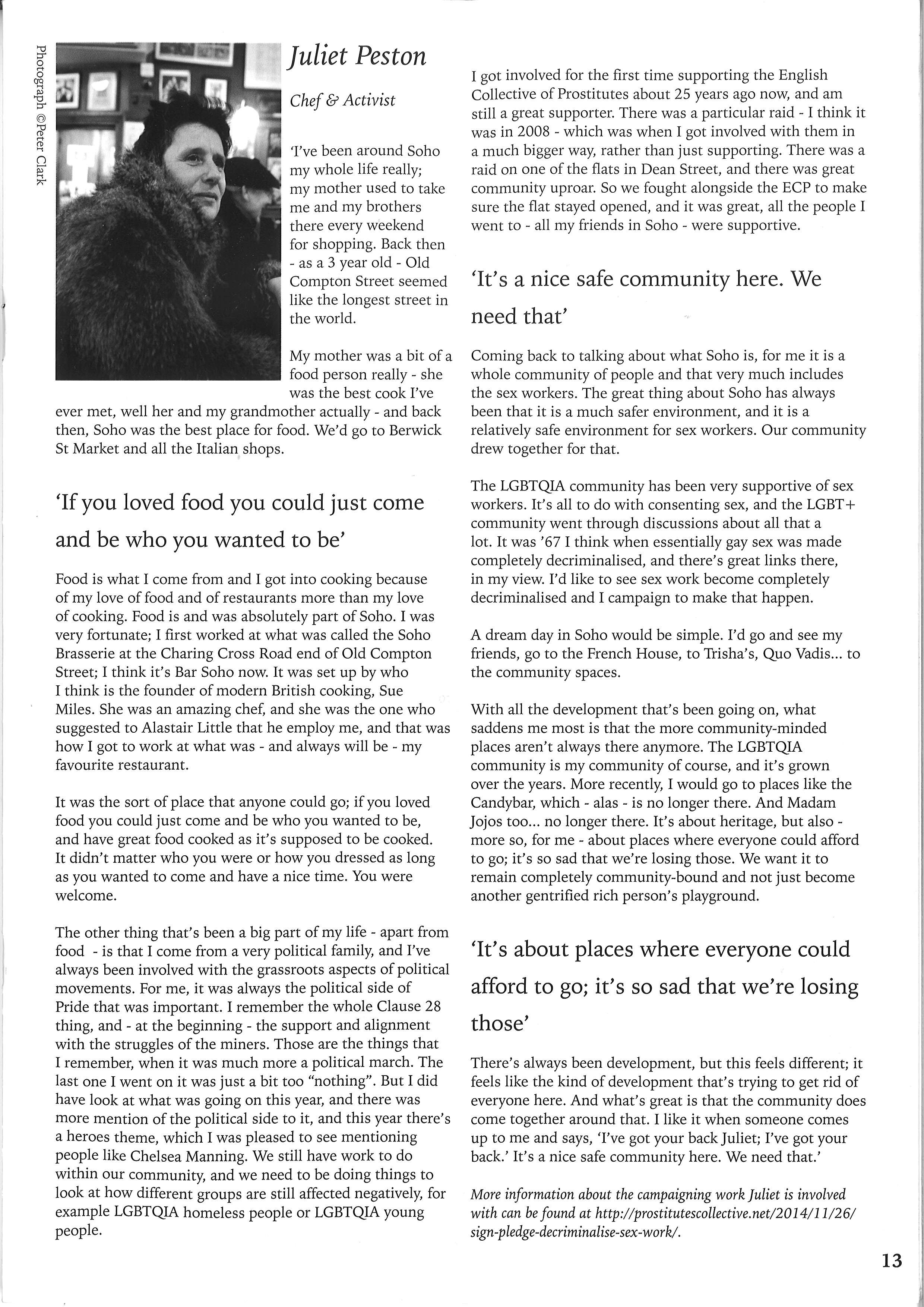 Jul article in Soho Clarion