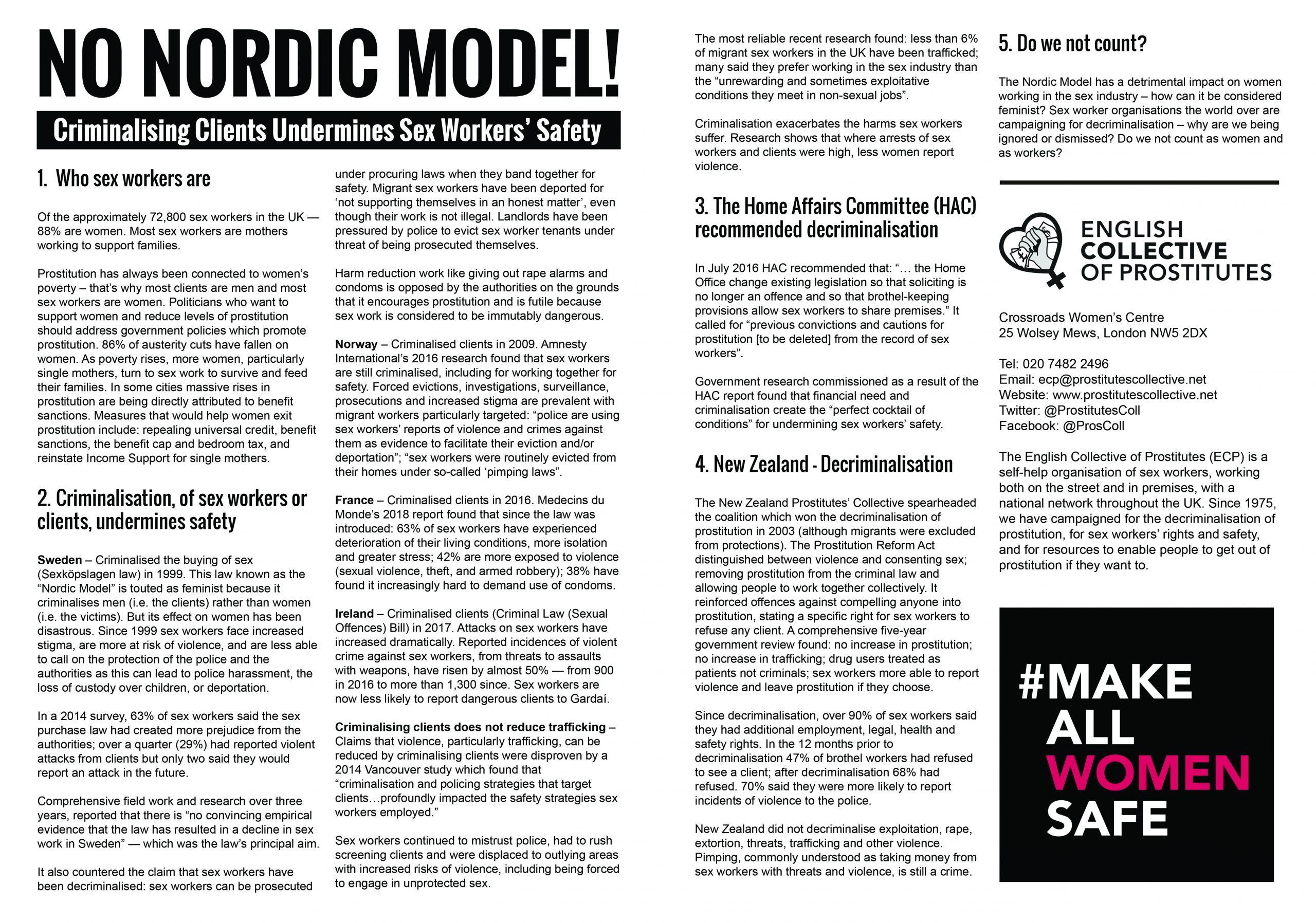 No Nordic Model